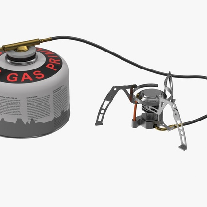 Camping Gas Stove 3. Render 3