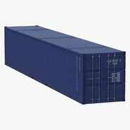 48 ft Shipping ISO Container Blue