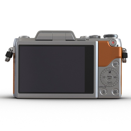 Panasonic DMC GF7 Brown. Render 20
