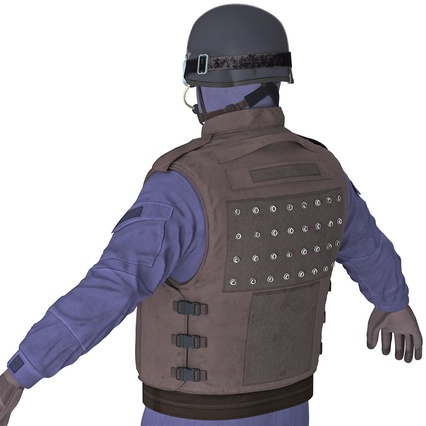 SWAT Uniform. Render 22