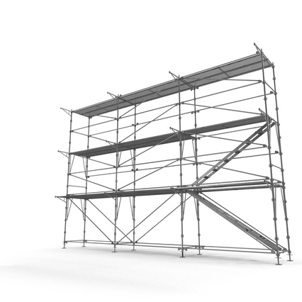 Scaffolding Collection 2. Render 3