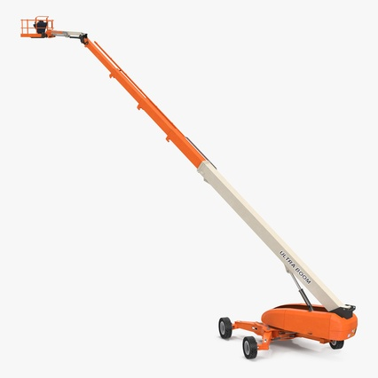 Telescopic Boom Lift Generic 4 Pose 2. Render 1