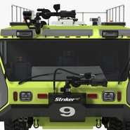 Oshkosh Striker 4500 Aircraft Rescue and Firefighting Vehicle Rigged. Preview 13