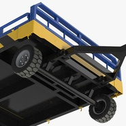 Airport Transport Trailer Low Bed Platform Rigged. Preview 15