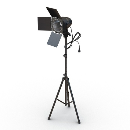 Photo Studio Lamps Collection. Render 22