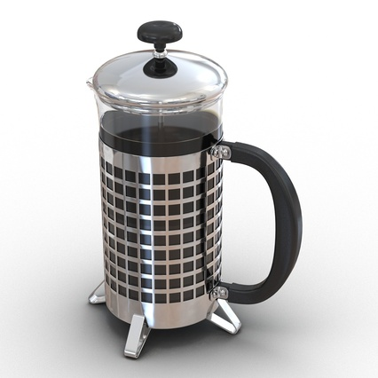 French Press. Render 8