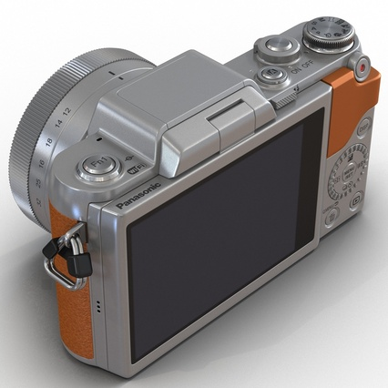 Panasonic DMC GF7 Brown. Render 31