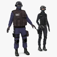 SWAT Rigged Policemans Collection