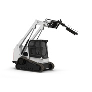 Compact Tracked Loader with Auger. Preview 18