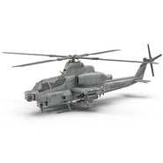Attack Helicopter Bell AH 1Z Viper Rigged. Preview 8