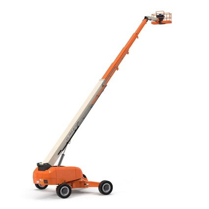 Telescopic Boom Lift Generic 4 Pose 2. Render 8