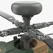 AH-64D Apache Longbow Japan Rigged. Preview 15