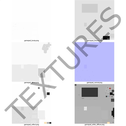 Nintendo Wii U Set White. Render 53