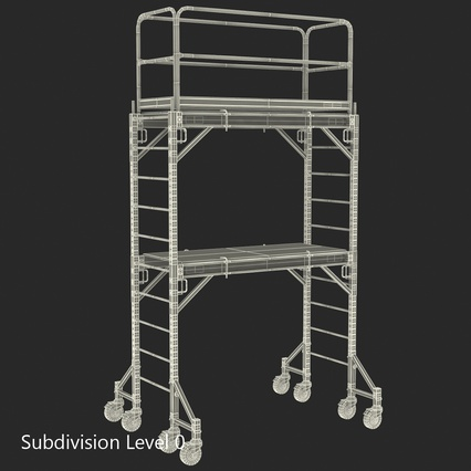 Scaffolding Collection 2. Render 51