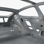 Tesla Model S Frame and Chassis. Preview 22