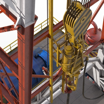 Fracking Gas Platform. Render 29
