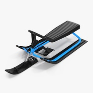 Snow Sled With Steering Wheel