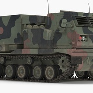 US Multiple Rocket Launcher M270 MLRS Camo. Preview 5