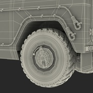 Russian Mobility Vehicle GAZ Tigr M Rigged. Preview 91