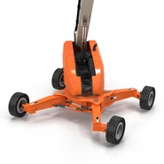 Telescopic Boom Lift Generic 4 Pose 2. Preview 24