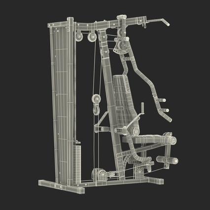 Weight Machine 2. Render 45
