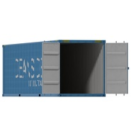 40 ft High Cube Container Blue 2. Preview 6