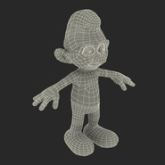 Smurf Rigged for Maya. Preview 39
