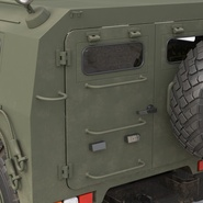 Russian Mobility Vehicle GAZ Tigr M Rigged. Preview 46