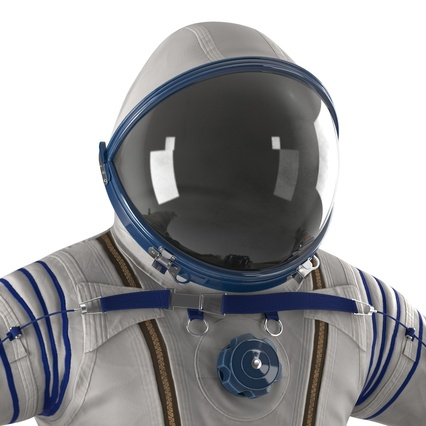 Russian Space Suit Sokol KV2 Rigged. Render 33
