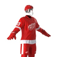 Hockey Equipment Detroit Red Wings. Preview 21