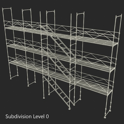 Scaffolding Collection 2. Render 49