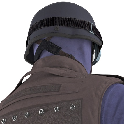 SWAT Uniform. Render 40
