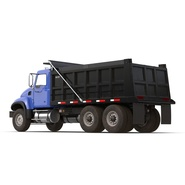 Dump Truck Mack Rigged. Preview 13