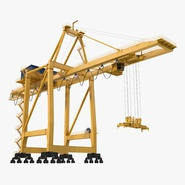 Quayside Container Crane Rigged