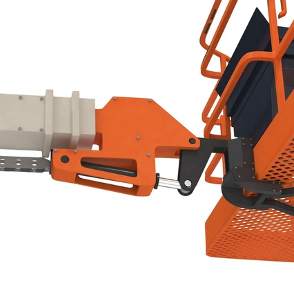 Telescopic Boom Lift Generic 4 Pose 2. Render 65
