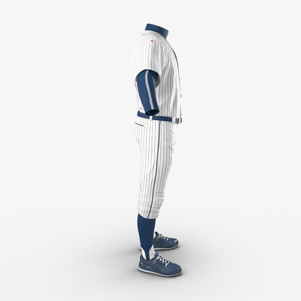Baseball Player Outfit Generic 8. Render 8