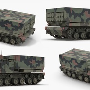 US Multiple Rocket Launcher M270 MLRS Camo. Preview 12