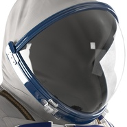 Russian Space Suit Sokol KV2 Rigged. Preview 38