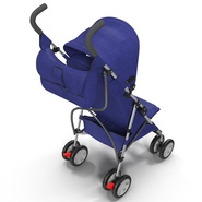 Baby Stroller Blue. Preview 15