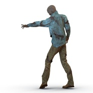 Zombie Rigged for Cinema 4D. Preview 14