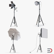 Photo Studio Lamps Collection. Preview 1