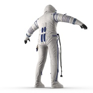 Russian Space Suit Sokol KV2 Rigged. Preview 23