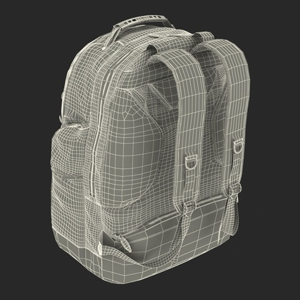 Backpack 2 Generic. Render 31