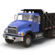 Dump Truck Mack Rigged. Preview 38