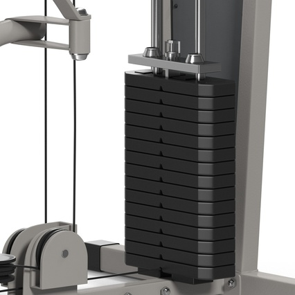 Weight Machine 2. Render 33
