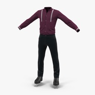 Male Figure Skater Costume