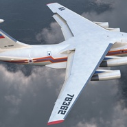 Ilyushin Il-76 Emergency Russian Air Force Rigged. Preview 7