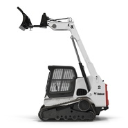 Compact Tracked Loader Bobcat With Blade Rigged. Preview 22