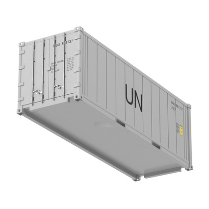 ISO Refrigerated Container. Render 14
