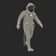 Russian Space Suit Sokol KV2 Rigged. Preview 6